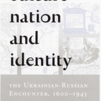 23 April 2003—New Book Examines Ukrainian-Russian Relations