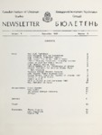 Newsletter Vol 7 Issue 3 (Fall 1983)