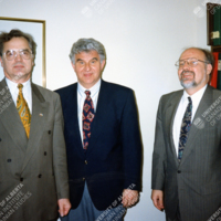 Viktor Batiuk, Zenon Kohut, and Frank Sysyn