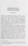 Mykola Khvylovy and Expressionism