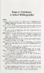 Peter J. Potichnyj: A Select Bibliography