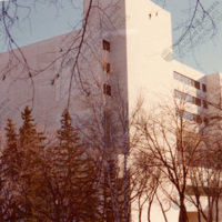 The first CIUS office at the Faculty of Education Building at the University of Alberta