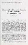 Skovoroda's and Socrates' Concepts of Self-Cognition: A Comparative View
