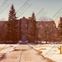 Athabasca Hall at the University of Alberta, where the CIUS office moved in July 1977