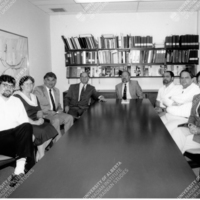 Francois Mathys (Canada's first Ambassador to Ukraine) with CIUS Staff—1992