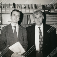 Z. Kohut with M. Riabchuk — Fall 1993.jpg