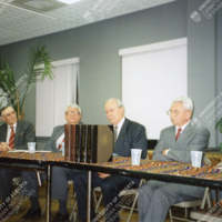 Encyclopedia of Ukraine launch in Philadelphia—1996