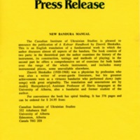 1989—New Bandura Manual