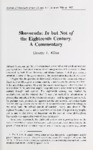 Skovoroda: In but Not of the Eighteenth Century. A Commentary