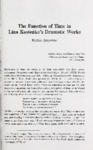 The Function of Time in Lina Kostenko' s Dramatic Works