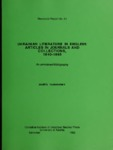 RR No. 51. UKRAINIAN LITERATURE IN ENGLISH: ARTICLES IN JOURNALS AND COLLECTIONS, 1840–1965