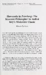 Skovoroda in Peterburg: The Itinerant Philosopher in Andrej Bely's Modernist Classic