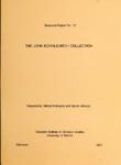 RR No. 16. THE JOHN KOVALEVITCH COLLECTION